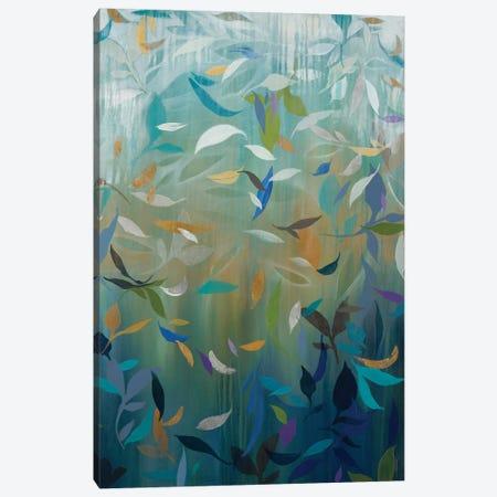Falling Leaves Canvas Print #JAR267} by Liz Jardine Canvas Artwork
