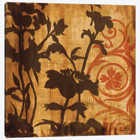 Chocolate Scroll Canvas Print #JAR26} by Liz Jardine Canvas Wall Art