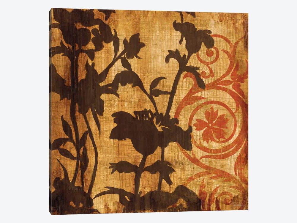 Chocolate Scroll by Liz Jardine 1-piece Canvas Art Print