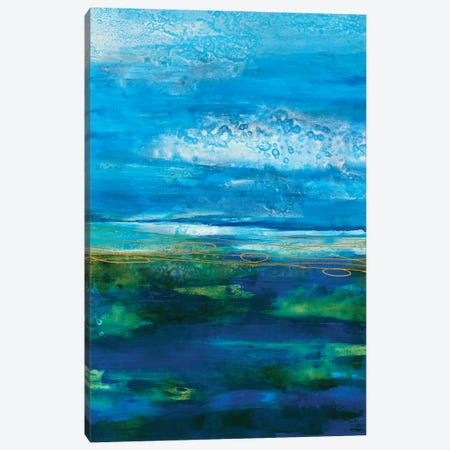Island Groove Canvas Print #JAR270} by Liz Jardine Canvas Wall Art