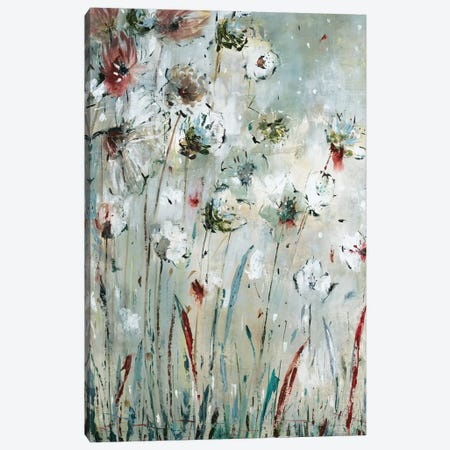 Night Flowers Canvas Print #JAR271} by Liz Jardine Canvas Art