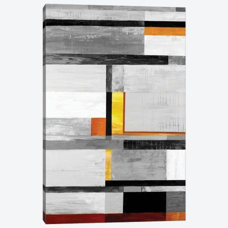 Retro Spectrum V7 Canvas Print #JAR273} by Liz Jardine Canvas Wall Art