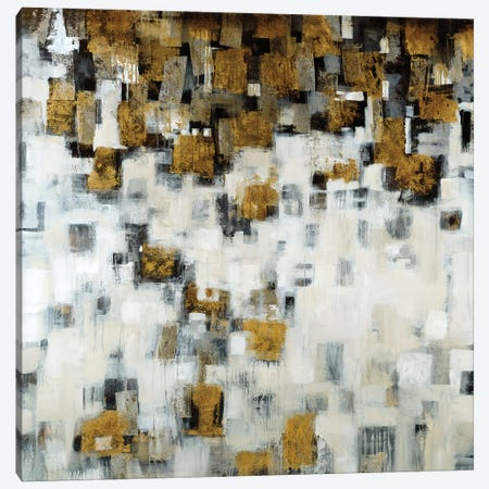 City Nights, Gold Canvas Print #JAR27} by Liz Jardine Canvas Artwork