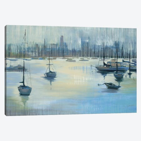 Dropping Anchor Canvas Print #JAR285} by Liz Jardine Canvas Artwork