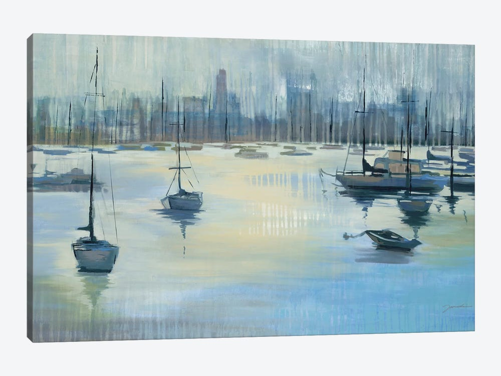 Dropping Anchor by Liz Jardine 1-piece Canvas Wall Art