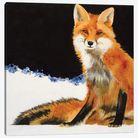Fox Canvas Print #JAR287} by Liz Jardine Canvas Wall Art
