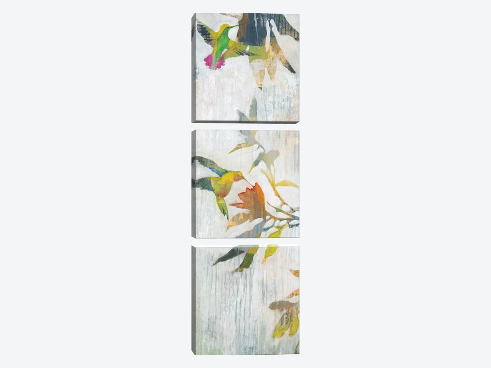 Garden Party I by Liz Jardine 3-piece Canvas Artwork