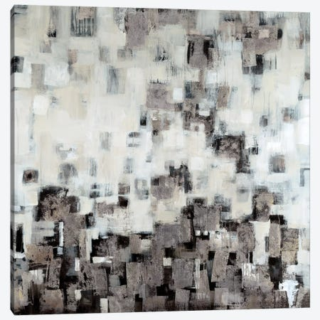 City Nights, Silver Canvas Print #JAR28} by Liz Jardine Art Print