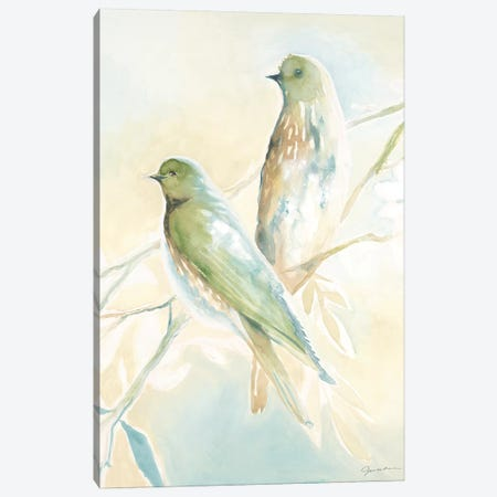 Love Birds Canvas Print #JAR297} by Liz Jardine Canvas Print