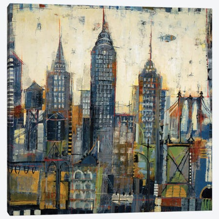 City Sketches Canvas Print #JAR29} by Liz Jardine Art Print