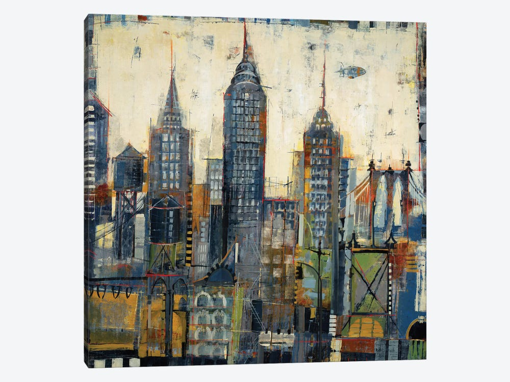 City Sketches by Liz Jardine 1-piece Canvas Artwork