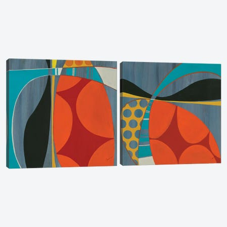 Transistor Diptych Canvas Print Set #JAR2HSET003} by Liz Jardine Canvas Art