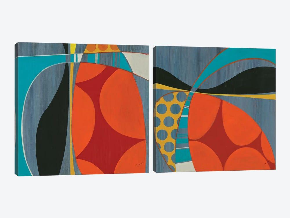 Transistor Diptych by Liz Jardine 2-piece Canvas Wall Art