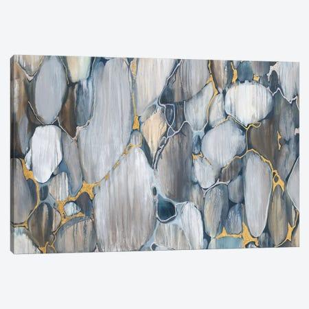 River Rocks 3-Piece Canvas #JAR305} by Liz Jardine Art Print