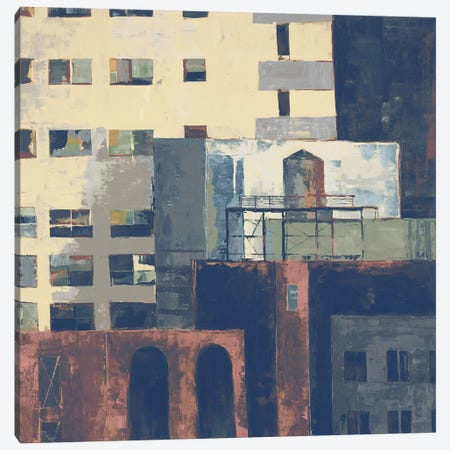 Urban Landscape I Canvas Print #JAR309} by Liz Jardine Canvas Art
