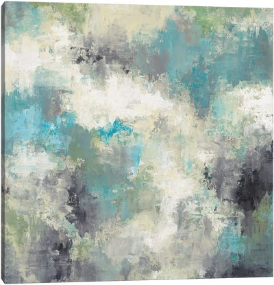 Cloud Layers Canvas Art Print