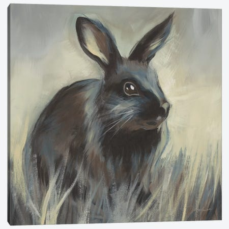 Wild Hare I Canvas Print #JAR312} by Liz Jardine Canvas Art Print