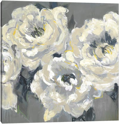 Gardenias V1 Canvas Art Print
