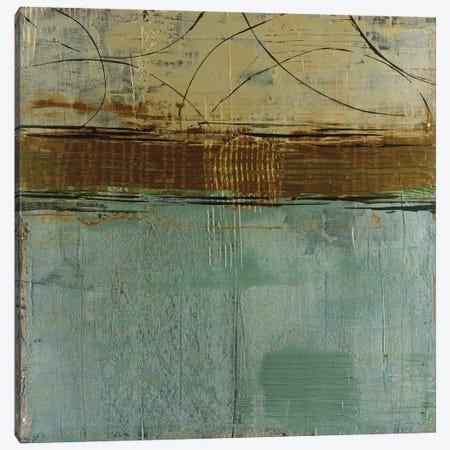 Cool Blue Canyon Canvas Print #JAR31} by Liz Jardine Canvas Wall Art