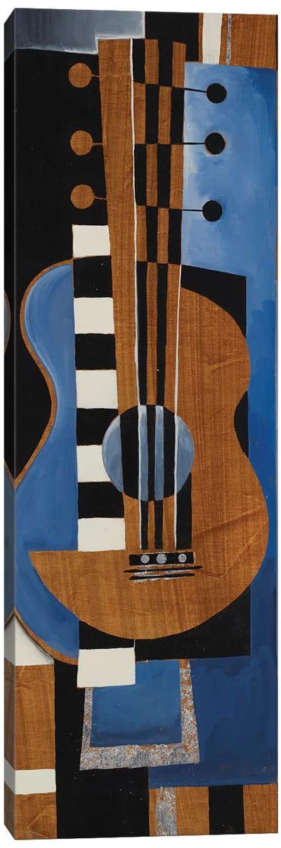 Blues Guitar Canvas Art Print