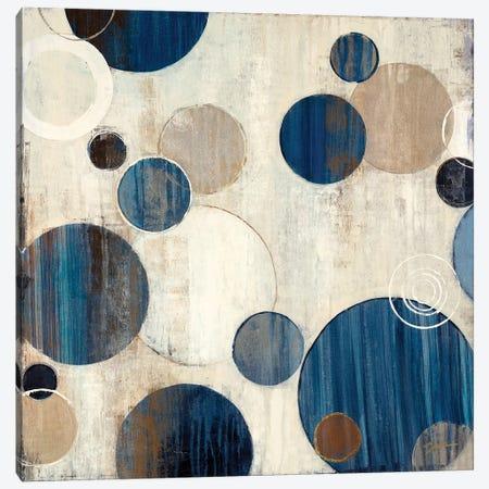 Cool Bubbles Canvas Print #JAR33} by Liz Jardine Canvas Art