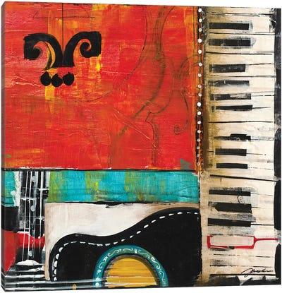 Sheet Music IV Canvas Art Print