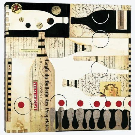 Deco Vino I Canvas Print #JAR37} by Liz Jardine Art Print