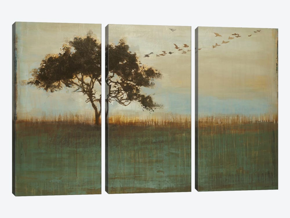 A Fleeting Glimpse by Liz Jardine 3-piece Canvas Art