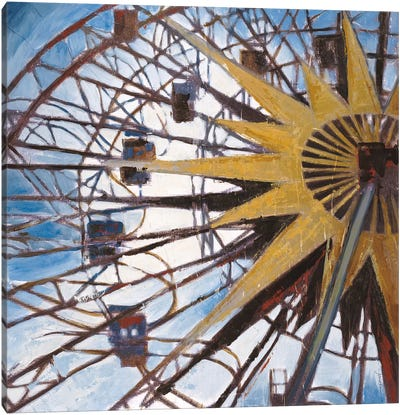 Ferris Wheel Canvas Art Print