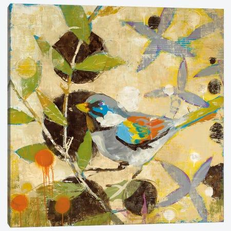 Flew The Coop I Canvas Print #JAR47} by Liz Jardine Canvas Wall Art