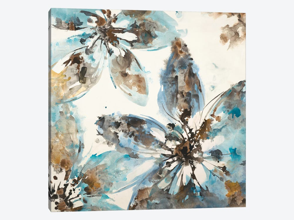 Flower Forms by Liz Jardine 1-piece Art Print