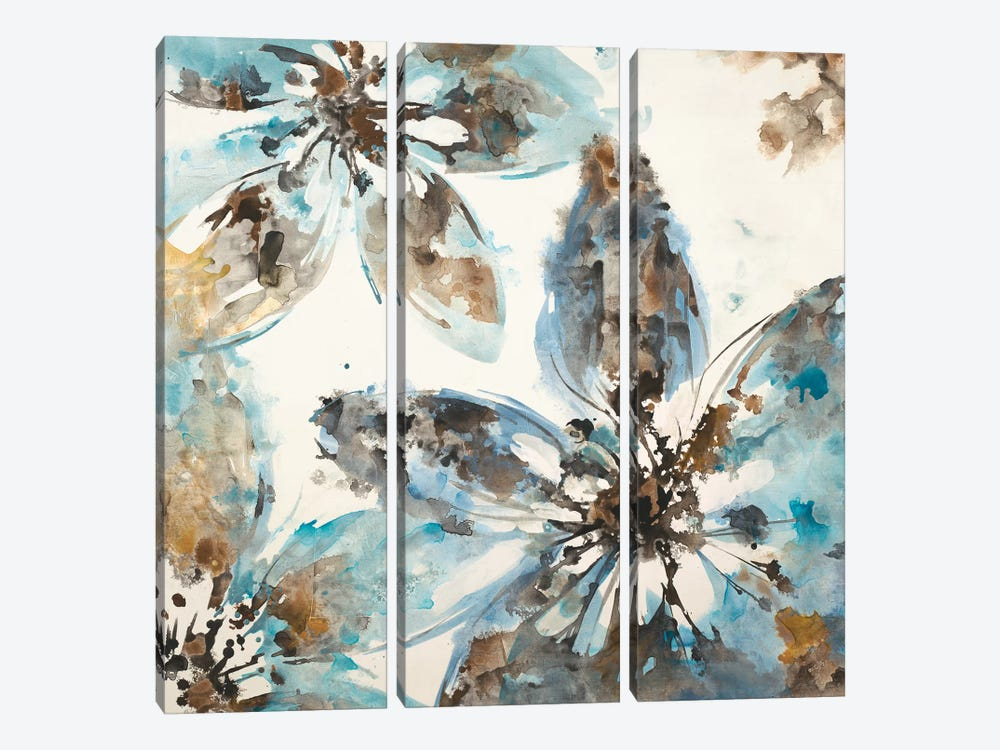 Flower Forms by Liz Jardine 3-piece Art Print