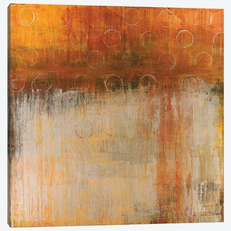 Gold Coins 3-Piece Canvas #JAR57} by Liz Jardine Art Print