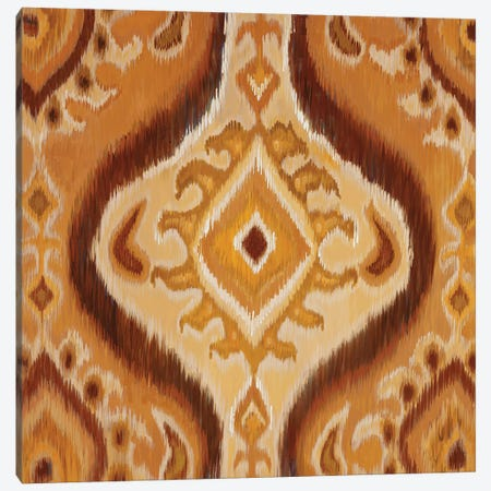 Ikat Canvas Print #JAR67} by Liz Jardine Canvas Artwork