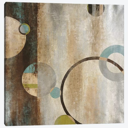 Interlocking Planets Canvas Print #JAR71} by Liz Jardine Canvas Art