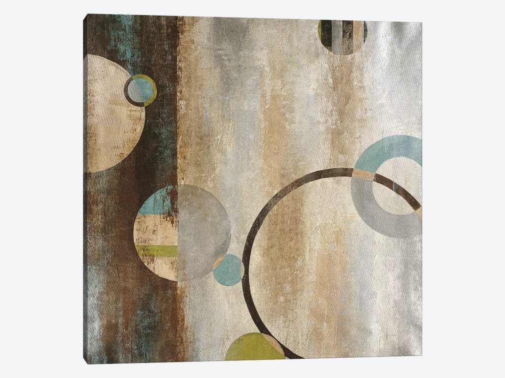 Interlocking Planets by Liz Jardine 1-piece Art Print