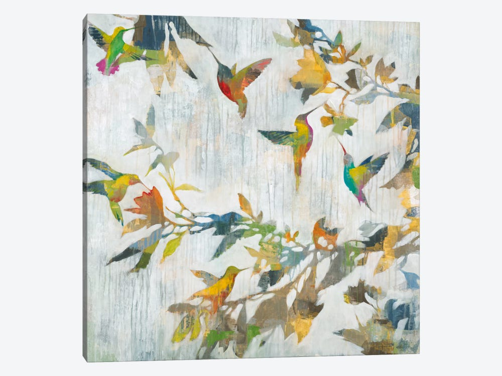Aerial Dance by Liz Jardine 1-piece Canvas Art