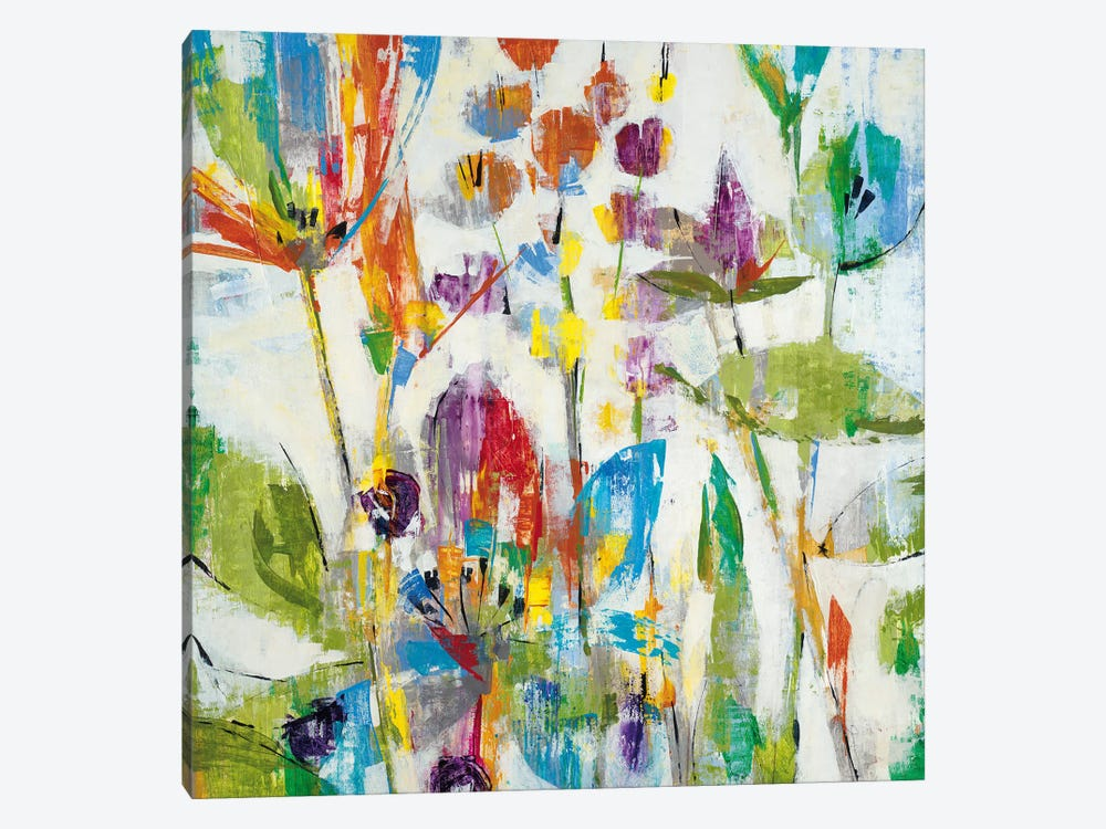 Lily Pond Park 1-piece Canvas Wall Art