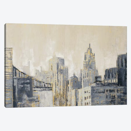 Metropolis Canvas Print #JAR84} by Liz Jardine Canvas Artwork
