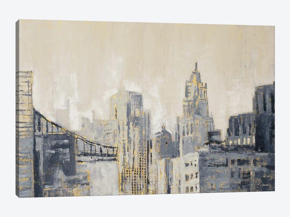 Metropolis by Liz Jardine 1-piece Canvas Print