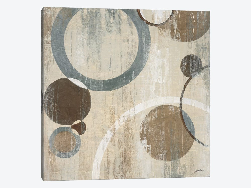 Orlando Mod Circles I by Liz Jardine 1-piece Canvas Wall Art