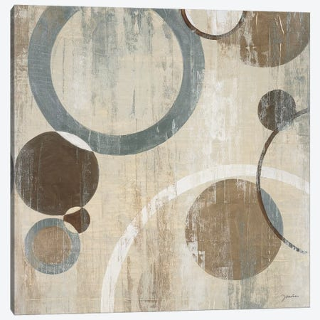 Orlando Mod Circles I Canvas Print #JAR90} by Liz Jardine Canvas Art