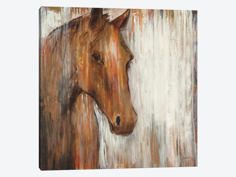 Painted Pony 1-piece Canvas Wall Art