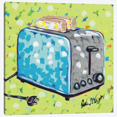 Kitchen Sketch Toaster Canvas Print #JAU10} by Jodi Augustine Canvas Print