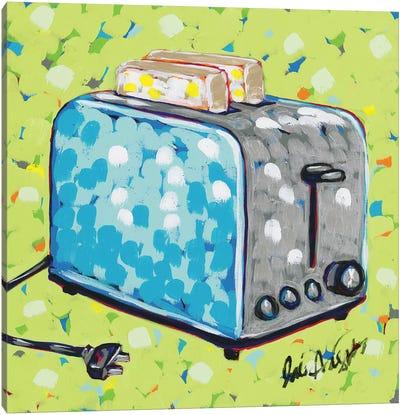 Kitchen Sketch Toaster Canvas Art Print