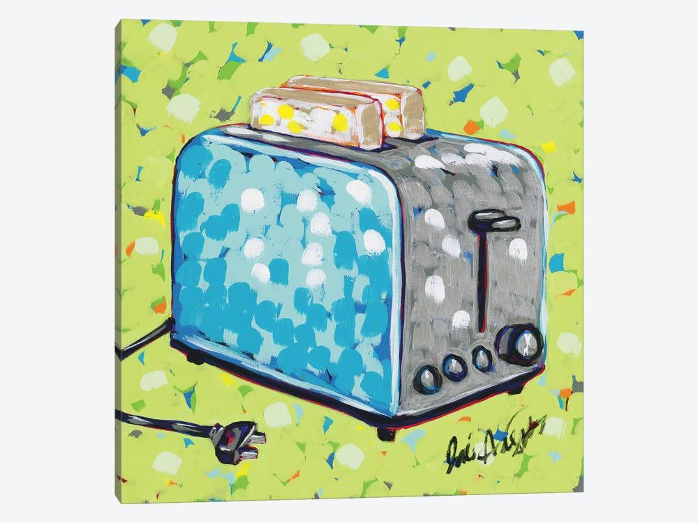 Kitchen Sketch Toaster by Jodi Augustine 1-piece Canvas Print