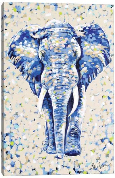 Peanut Elephant Canvas Art Print