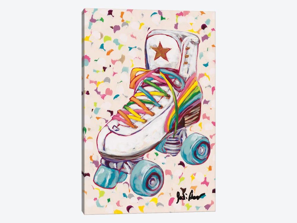 Retro Rainbow by Jodi Augustine 1-piece Canvas Print