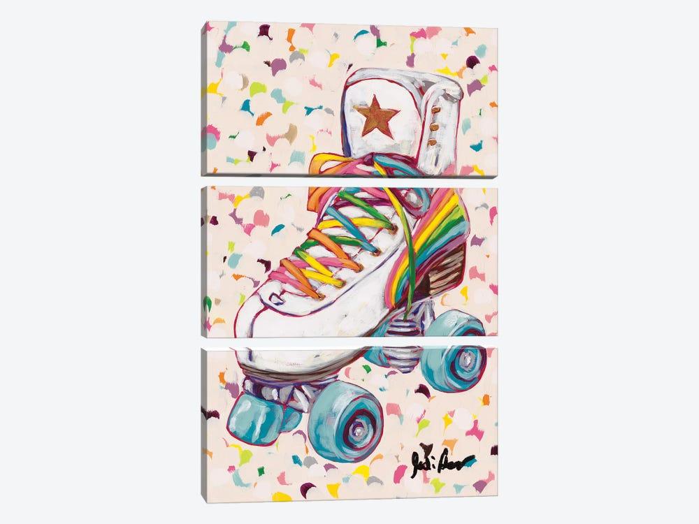 Retro Rainbow by Jodi Augustine 3-piece Art Print