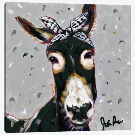Farm Pop-Donna Canvas Print #JAU15} by Jodi Augustine Canvas Wall Art